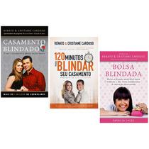Kit Livros Casamento Blindado 120 Minutos E Bolsa Blindada #