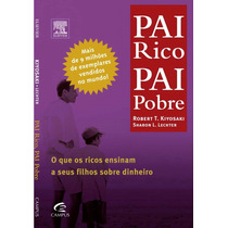 Livro Pai Rico Pai Pobre Robert T. Kiyosaki Promoção!!!