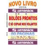 20 Bolões Prontos Para Lotofacil Neste Super Livro 80 Pagina