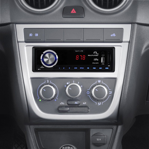 Auto Rádio Automotivo Mp3 Usb Sd Card Wave Multilaser P3108