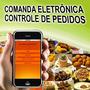 Locação Comanda Eletrônica Controla Pedidos Pelo Celular