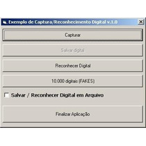 Impressão Digital (biometria) Visual Basic 6 (vb6)