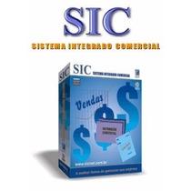 Sistema Integrado Comercial Sic 5.1 + Licença Vitalícia