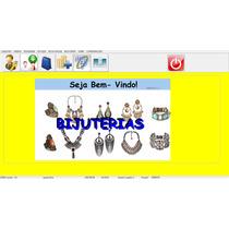 Programa Venda Bijuterias E Jóias - Controla Estoque E Caixa