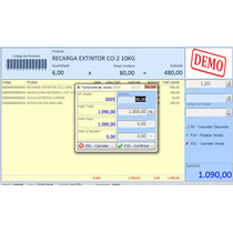 Software Sistema P/ Vendas Rápidas, Pdv, Controla Estoque