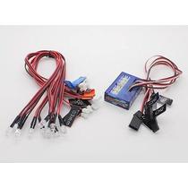 Sistema De Iluminação Led Turnigy P/ Automodelo