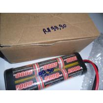 Bateria 7.2v-2000mah Para Automodelos Eletricos Exceed,hsp..
