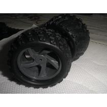28663 Pneus + Roda Monster Truck - Himoto Mastadon