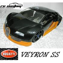 Bolha 1/8 Inferno Gt2 - Bugatti Veyron Ss - Rc Custom