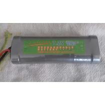 Bateria 7,2v 4600mah Super Power Automodelo E Outros Ni-mh