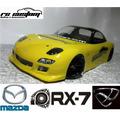 Bolha 1/10 200mm Drift - Mazda Rx7 - Rc Custom