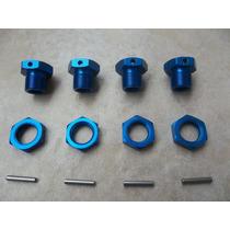 Sextavado Hex 1/8 17mm Alumínio Azul Losi Mugen Ofna Buggy