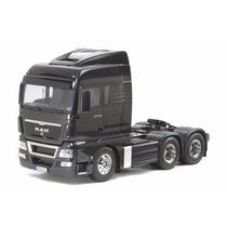 Caminhão Tamiya 1/14 Man Tgx Xlx 26.540 6x4 Black Kit 56325