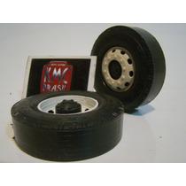 Kit De 100 Rodas De Plastico Standard 8 Cm 1-14 Caminhao Kmc