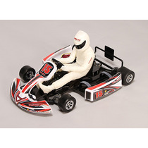 Carro Go Kart Rc Automodelo Turnigy Brushless Com Motor Grip