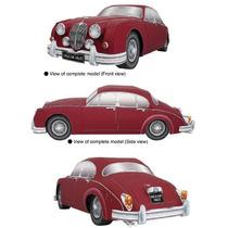 Papel Modelismo 3d - Veículos Antigos - Jaguar Mk2 Saloon