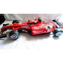 Carro Com Controle Remoto Ferrari 1:8 Recarregavel 56 Cm