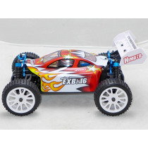 Automodelo Himoto Exb-16 4x4 Buggy 1/16 Radio 2.4ghz Complet