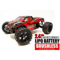 Carro Himoto 1/10 Bowie Brushless 2.4ghz + Bateria Lipo Rtr