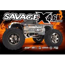 Hpi Savage X 4.6 Nitro 1/8 2.4ghz Rtr 109083 Comp