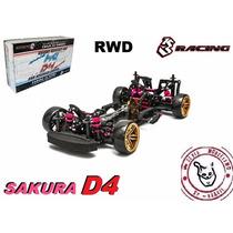 Sakura D4 - Rwd - Kit 1/10 - 3 Rancing - Pronta Entrega
