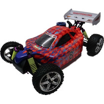 Himoto Buggy 1/10 Syclone 4wd Off-road Nitro + Kit Starter