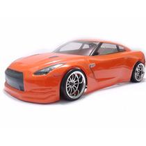 Carro Himoto Nissan Gt-r Ep Automodelo 1/10 Drift 2.4ghz Rc