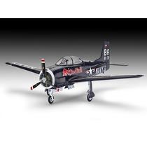 Avião T-28 Tojan Flying Bulls - 1/48 - Revel Kit Para Montar