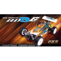 Buggy 1/8 Bd8-e 4x4 Nanda Racing Brushless 4s Radio 2.4