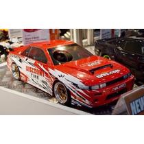 Carro Hpi Racing 1/10 Nitro Rs4 3 Drift Nissan S13 Rtr 11258