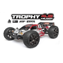 Hpi Trophy 4.6 1/8 Truggy Nitro 2.4ghz Rtr 107014 Combustao