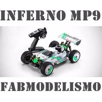 Automodelo Kyosho Inferno Mp9 Tki3 1/8 2015 Nitro Completo