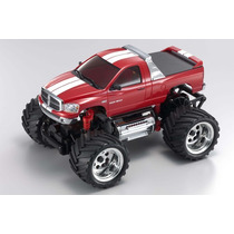 Carro Kyosho Mini-z Monster Dodge Ram Red 1/30 2.4ghz 30091m