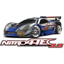 Automodelo Traxxas Nitro 4 Tec Trx 3.3 Partida Elétrica 110