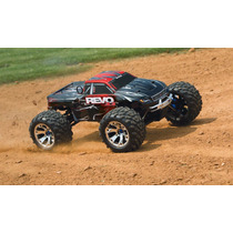 Carro Traxxas Revo 3.3 4wd Monster Truck 1/8 Tqi 2.4ghz Rtr