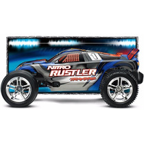 Traxxas Nitro Rustler Com Radio E Motor Trx 2.5 Freehobby