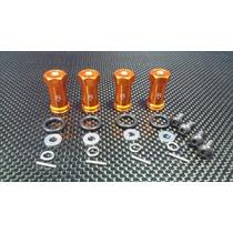 Kit Alargadores Das Rodas Mini E-revo Vxl 1/16 Cinza +20mm
