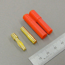 9283 - Plug Hxt 4mm Gold Connector With Protector