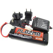 Bateria Ez Start 7.2v 2000mah + Carregador Hpi