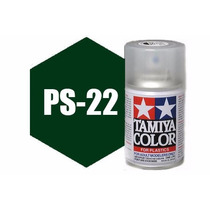 Spray Tamiya Ps-22 Racing Green 3 Oz Polycarbonate 86022