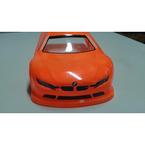 Bolha 1/10 190mm Ep Just Fast Jfm3 Bmw - Pintada Laranja