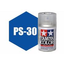Spray Tamiya Ps-30 Brilliant Blue 3 Oz Polycarbonate 86030
