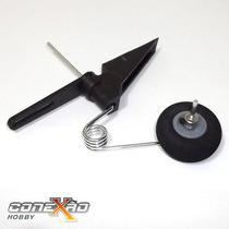 Bequilha Traseira Com Roda 3cm De Diâmetro Completa - Avião