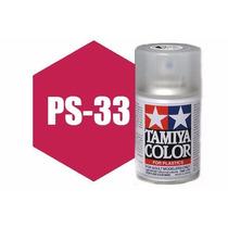 Spray Tamiya Ps-33 Cherry Red 3 Oz Polycarbonate 86033