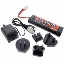 Bateria 7.2v Hpi Palzma - 2000mah - Nimh - Carregador Novo