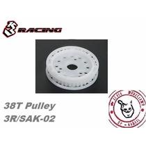 3 Rancing Pulley 38t #3r/sak-02 P/ Sakura Zero Zero S Td10