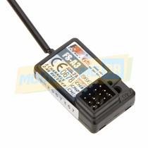 Flysky Receptor 2.4ghz 3 Canais -105dbm P/ Radio 3 Canais Rc