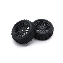 Par De Rodas E Pneus Off Road Automodelos Escala 1/10 12mm