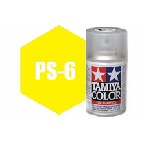 Spray Tamiya Ps-6 Yellow 3 Oz Polycarbonate 86006