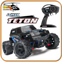 Radio Controle Traxxas Latrax Teton 1/18 2.4ghz Completo Rc